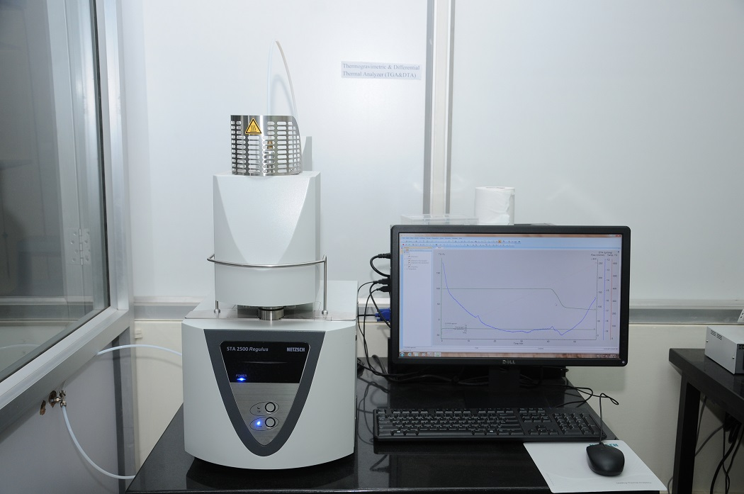 Thermgravimetric and Differential Thermal analyzer